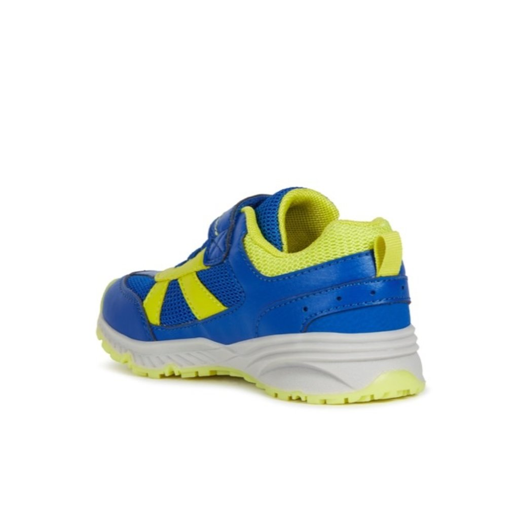 Geox Geox J Bernie Royal/Lime Green