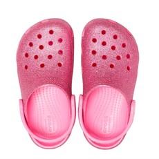 Crocs Crocs Kids Classic Glitter Pink Lemonade
