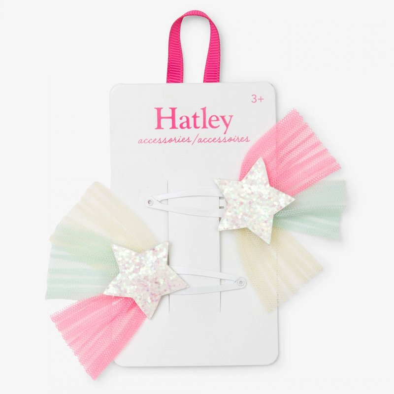 Hatley Hatley Tulle Starburst Snap Clips