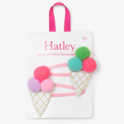 Hatley Hatley Pom Pom Cones Snap Clips