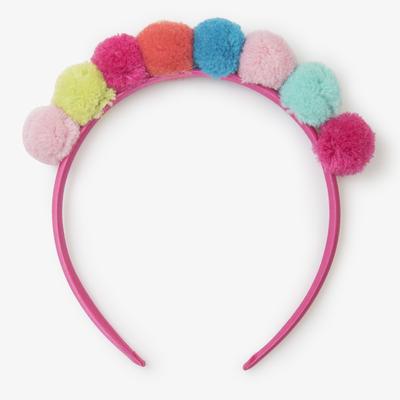 Hatley Hatley Pom Pom Crown Headband