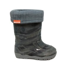 Alisa Alisa Lined Rainboot Grey Military