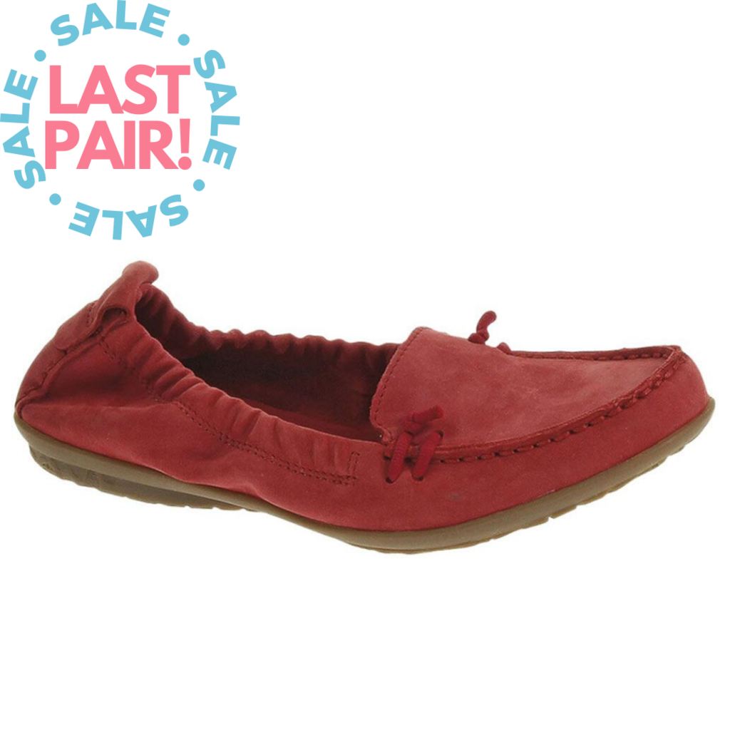 Hush Puppies Hush Puppies Women's Ceil Slip On Red Nubuck