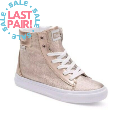 Keds Keds Double Up High Top Gold (Youth 5)