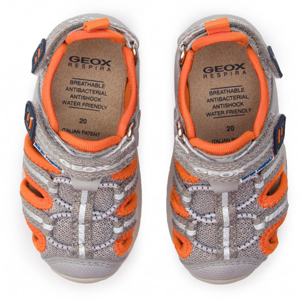 Geox Geox B Sand Multy Grey/Orange