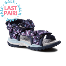 Geox Geox J Borealis Navy/Purple (Toddler 26)