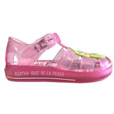 Agatha Ruiz De La Prada Agatha Ruiz De La Prada Jelly Sandal Pink