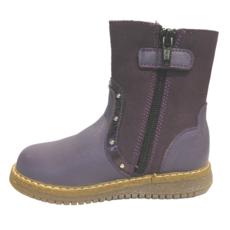 Right Step Dress Boot Purple Barcelona