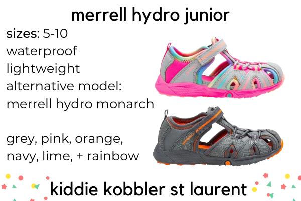 Best Kid's Sandals For Narrow Feet