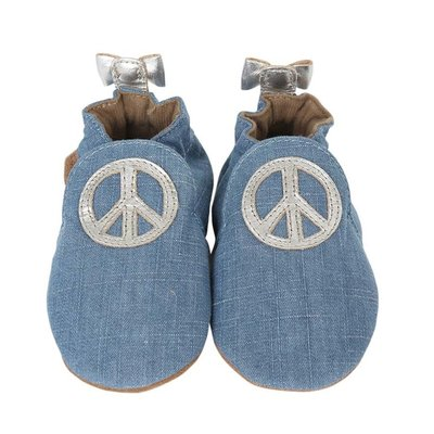 Robeez Robeez Soft Soles Peace Out