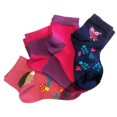 Trimfit Trimfit Socks Multi Pack (4 Pk)