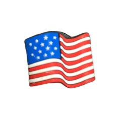 Crocs Crocs Jibbitz US Flag