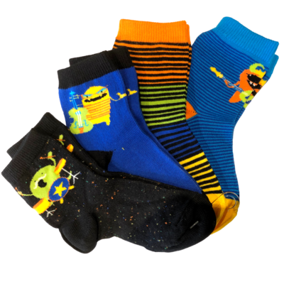 Trimfit Trimfit Socks Multi Pack (4pk)