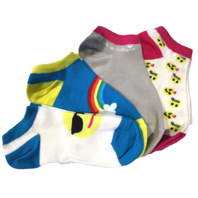 Trimfit Trimfit Socks Multi Pack Emojis (4 Pk)