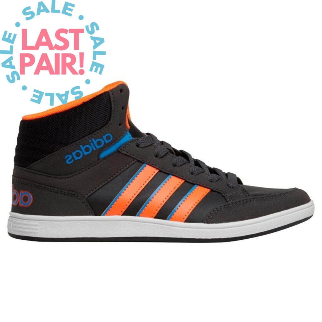 Adidas Adidas Hoops Mid K Black/Multi (Child 13)