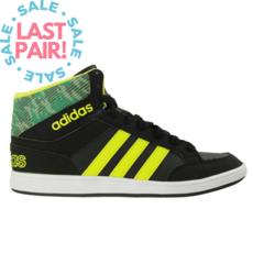 Adidas Adidas Hoops Mid K CBlack/Sesoye/CGreen (Youth 4)