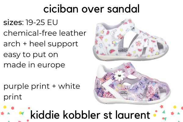 Best Kid's Sandals For Wide Feet
