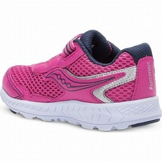 Saucony Saucony Ride 10 Jr Pink/Silver XW