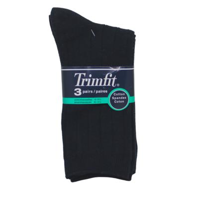 Trimfit Trimfit 3 Pack Dress Sock Navy