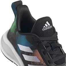 Adidas Adidas FortaRun K CBLACK/WHT/SILVMT