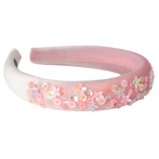 Hatley Hatley Rose Shadow Velvet Puff Headband
