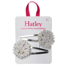 Hatley Hatley Festive Snowflakes Snap Clips