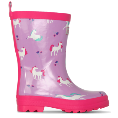 Hatley Hatley Playful Unicorns Shiny Rain Boots