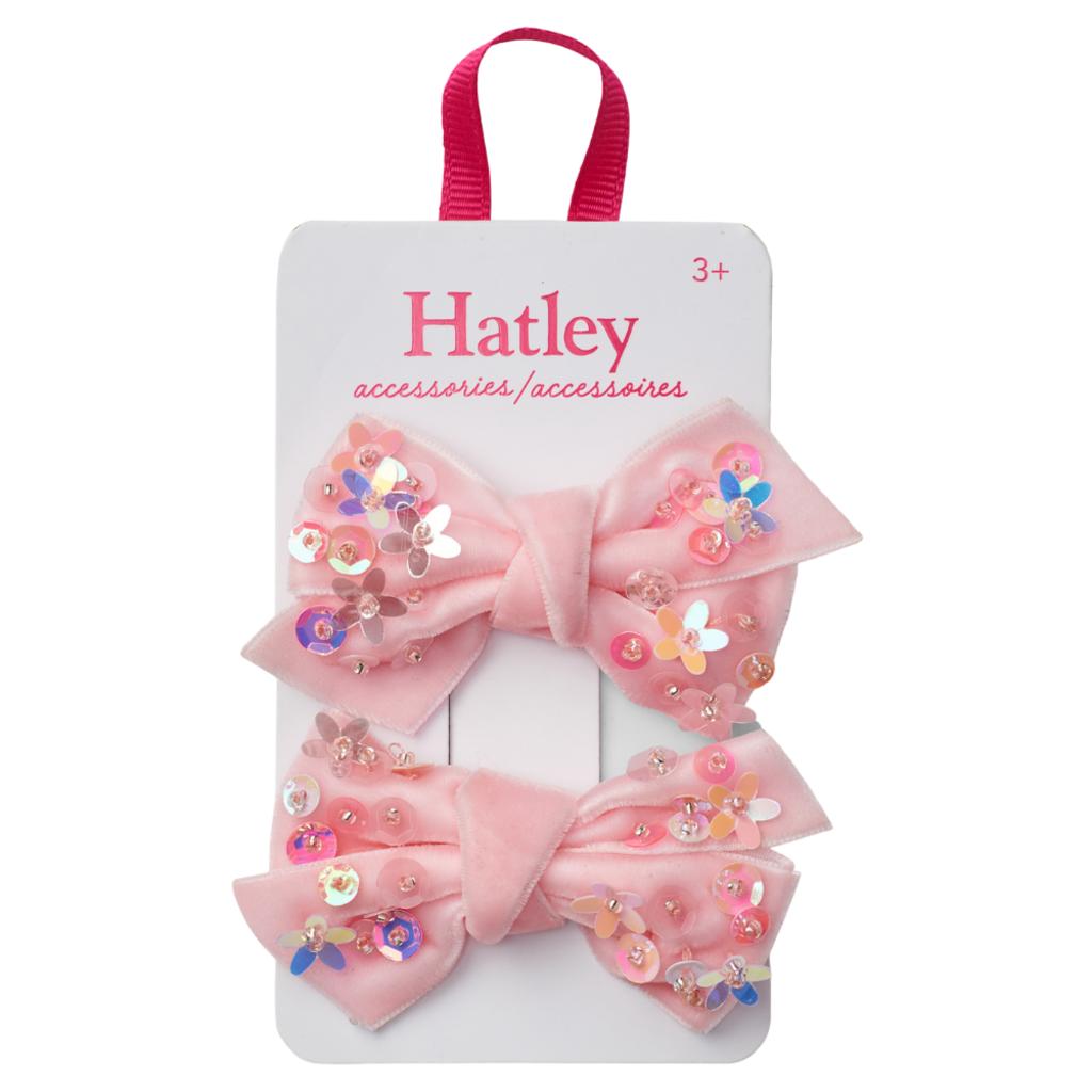 Hatley Hatley Sequined Bow Hair Clips