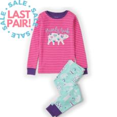 Hatley Hatley Arctic Party Long Sleeve Pajama Set - Size 2