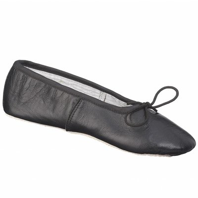 Johnny Brown Johnny Brown Leather Ballet Slipper