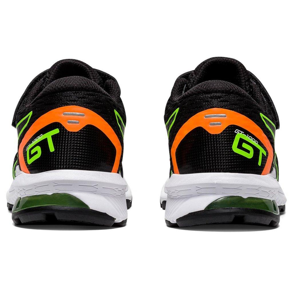 Asics Asics GT-1000 9 PS Black/Green Gecko