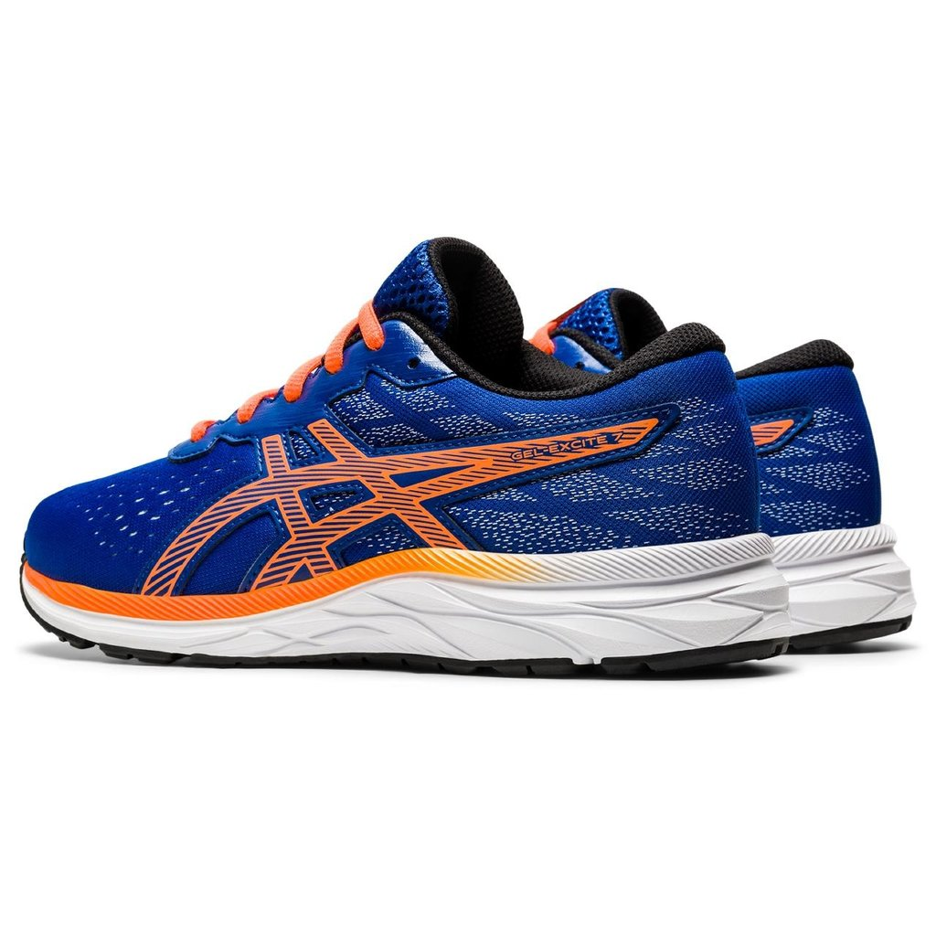 Asics Asics Gel Excite 7 GS Blue/Shocking Orange
