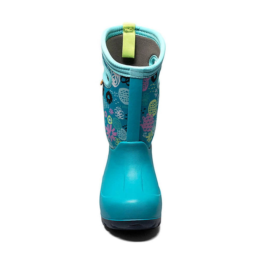 Bogs Bogs Neo-Classic Garden Party Teal Multi