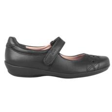 Flexi Girls Dress 25222 Black