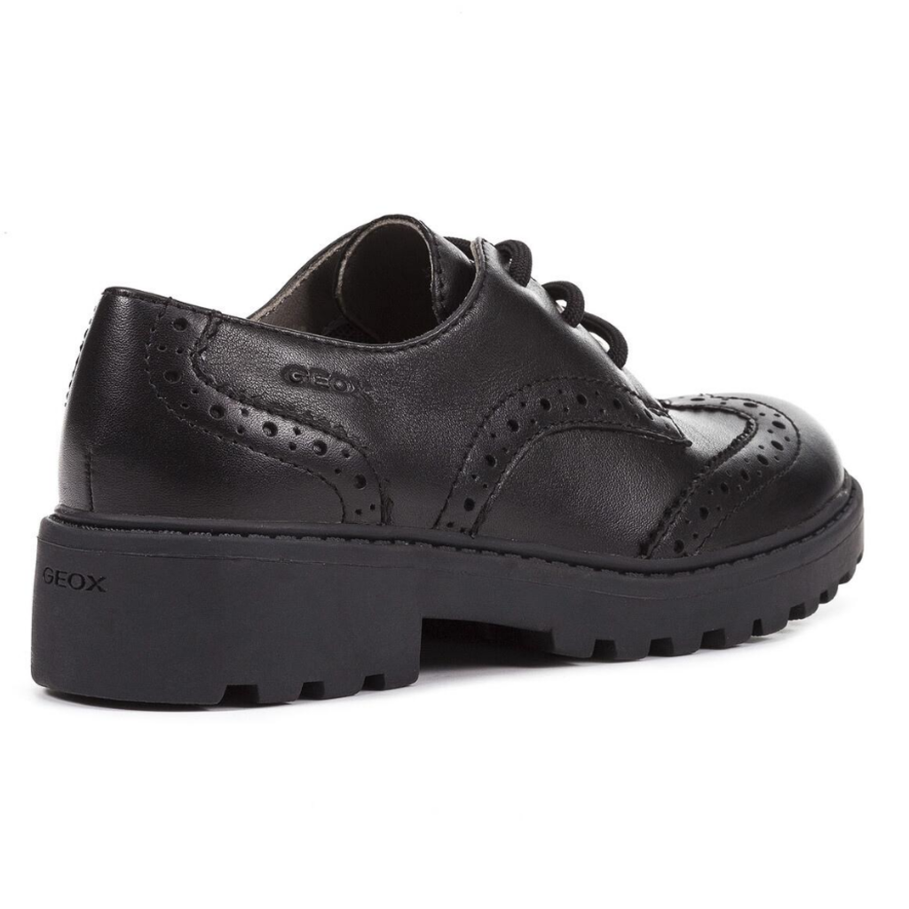 Geox Geox J Casey Lace Black Youth 40