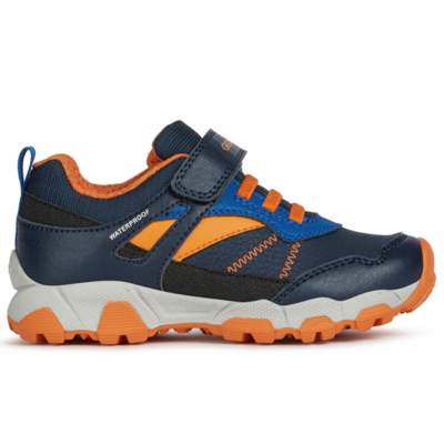 Geox Geox J Magnetar WPF Navy/Orange