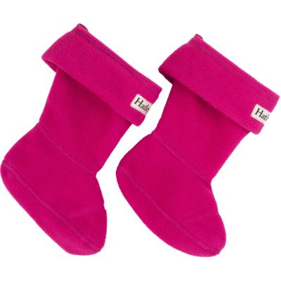 Hatley Hatley Fleece Boot Liners Magenta