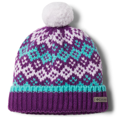 Columbia Columbia Fawn Hike Youth Pom Pom Hat