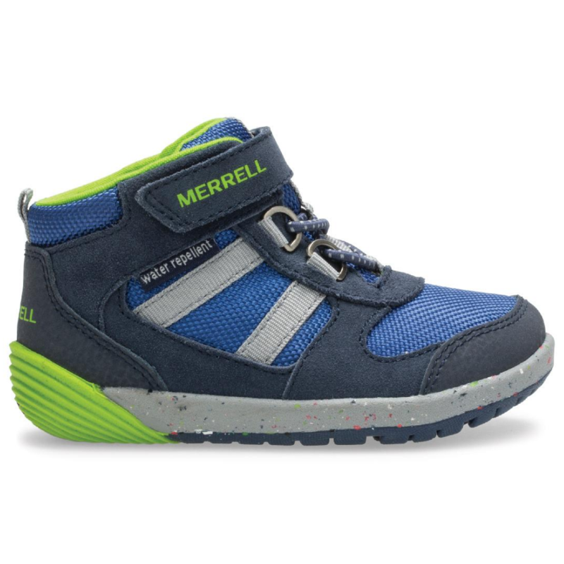Merrell Merrell Bare Steps Ridge Jr Navy/Green