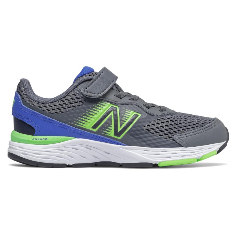 New Balance New Balance 680v6 Grey/Cobalt/Lime