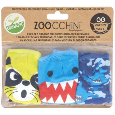 Zoocchini Zoocchini Organic Face Mask (3 PK)