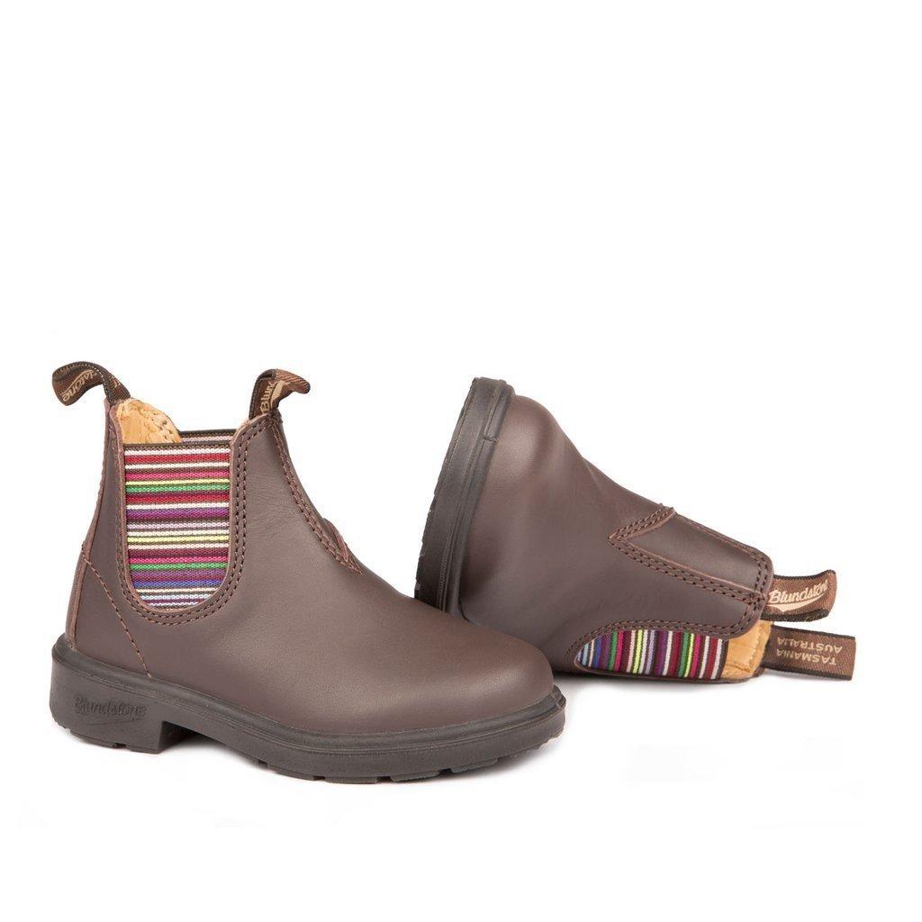 Blundstone Blundstone Blunnies 1413 - Brown/Stripes