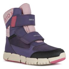 Geox Geox J Flexyper ABX Boot Dk Violet/Pink