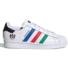 Adidas Adidas Superstar J Ftwwht/Green/Cblack
