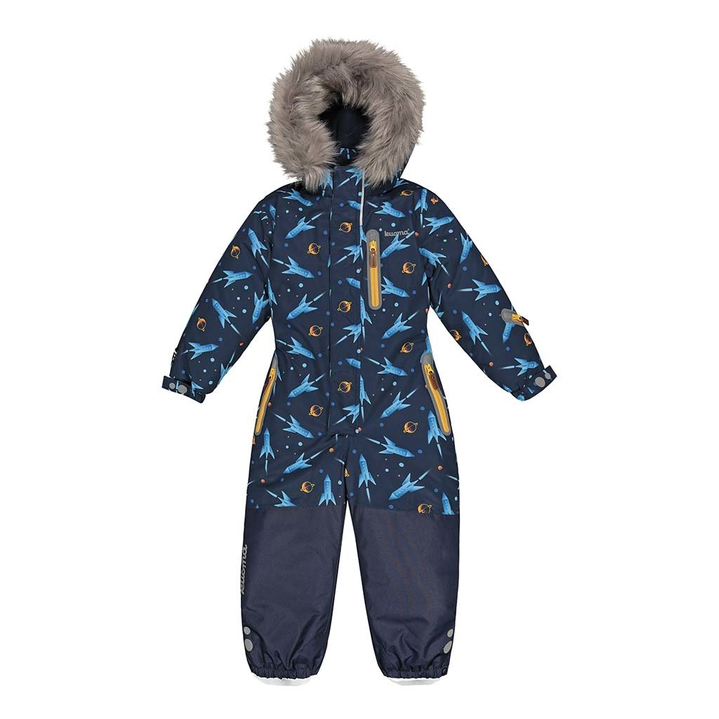 Kuoma Kuoma One Piece JUNNO Snowsuit Rockets Navy