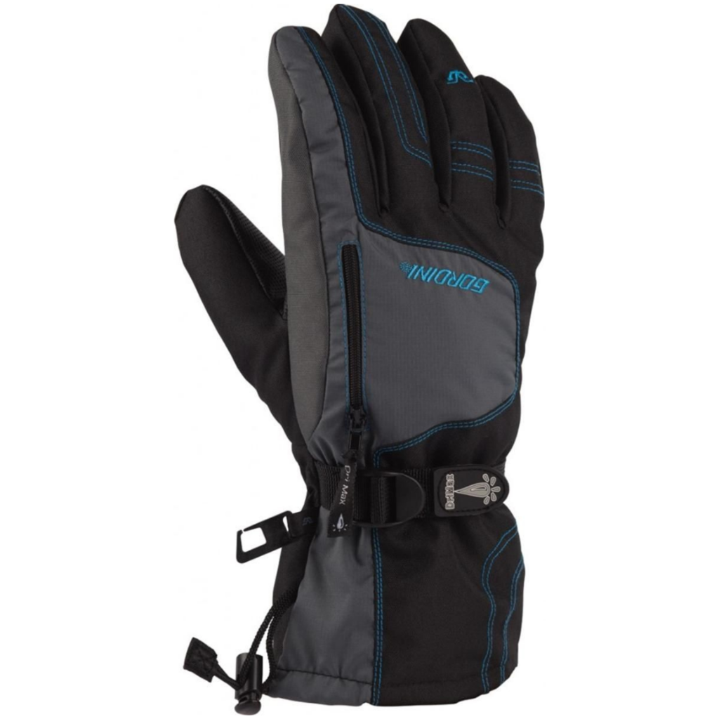 Gordini Ultra Dri-Max Gauntlet IV Jr Glove Black/Teal