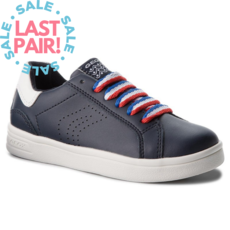 Geox Geox J DJ Rock Navy/White