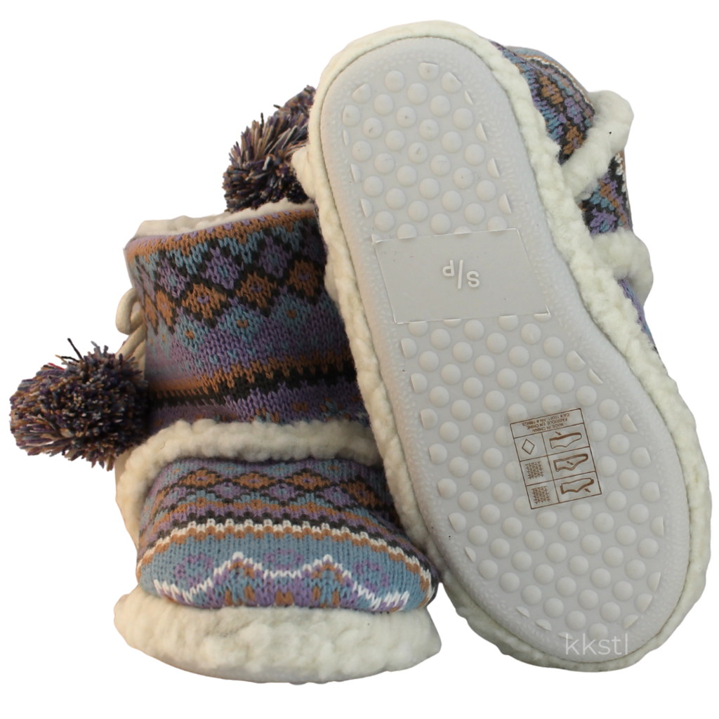 Details Arctic Slippers White Multi