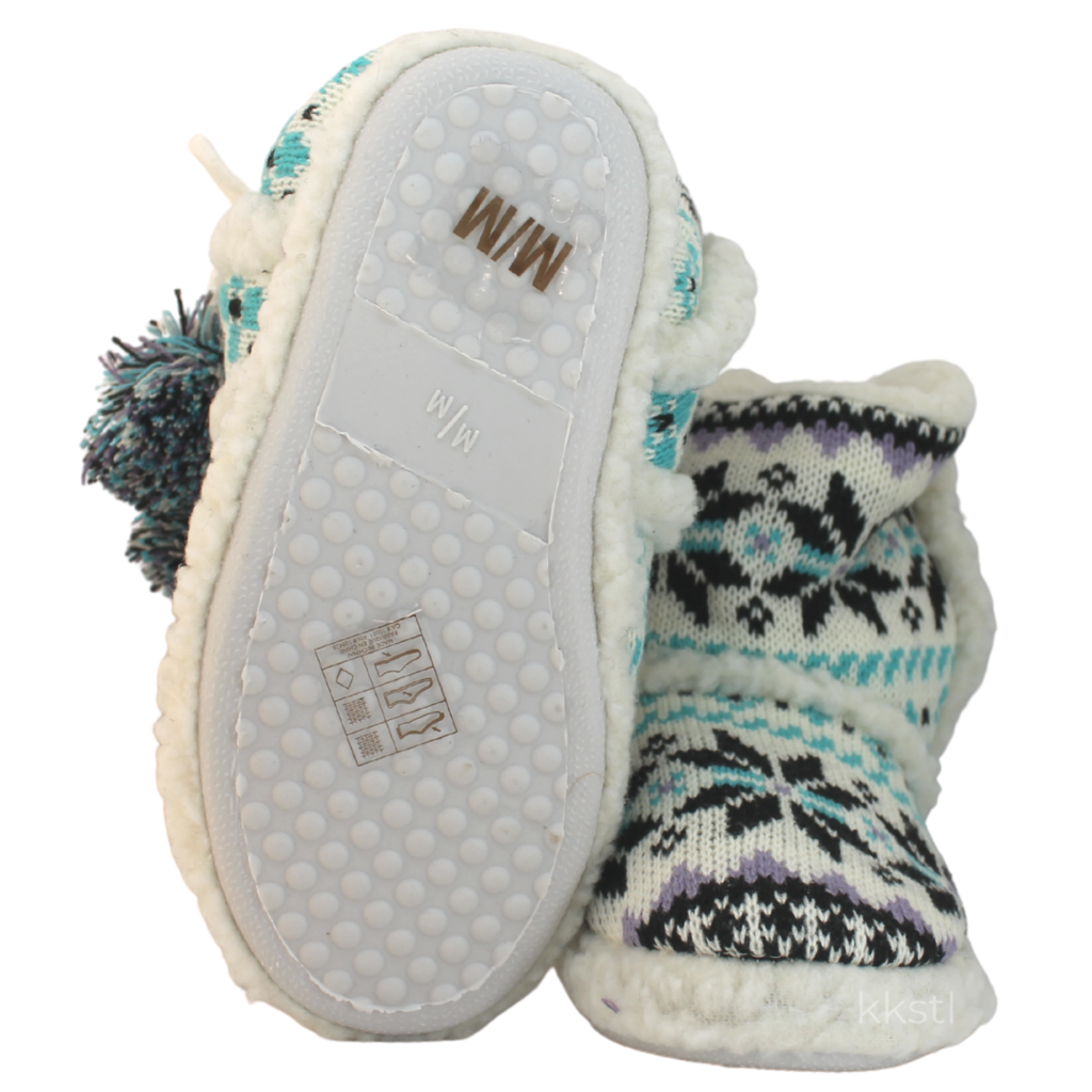 Details Arctic Slippers Teal Multi