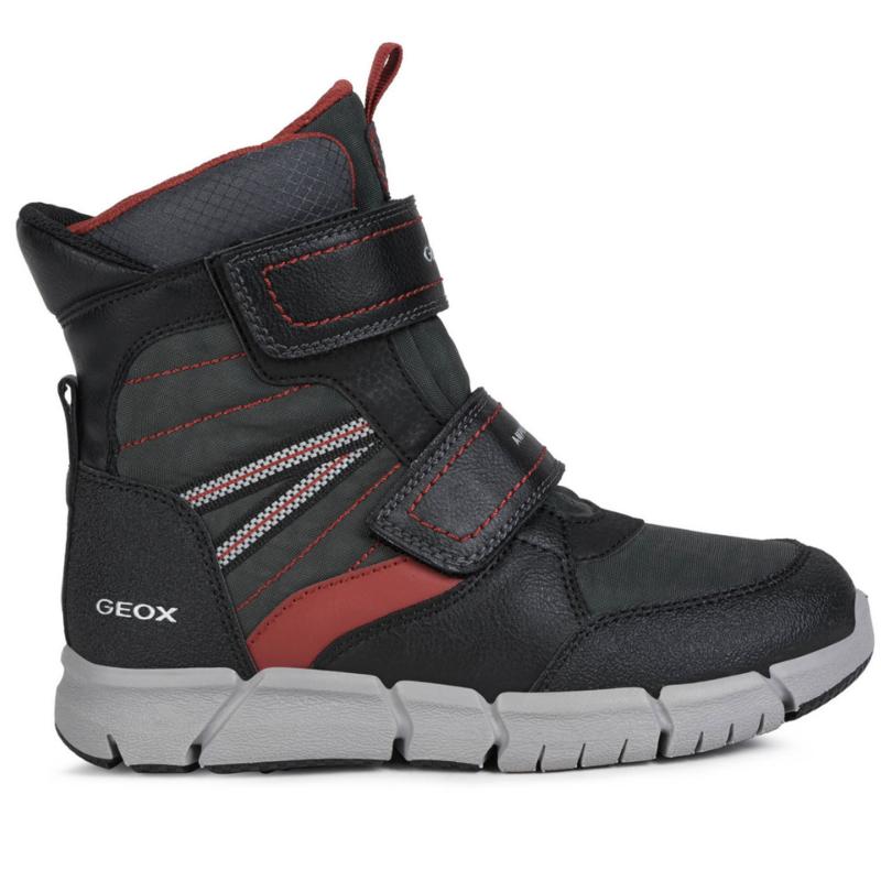 Geox Geox  J Flexyper ABX Boot Black/Red